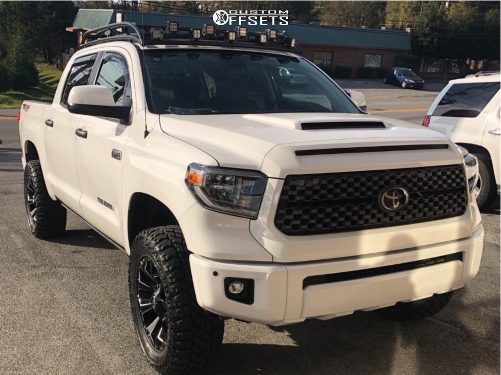 1 2018 Tundra Toyota Toytec Lifts Suspension Lift 3in Fuel Assault Black