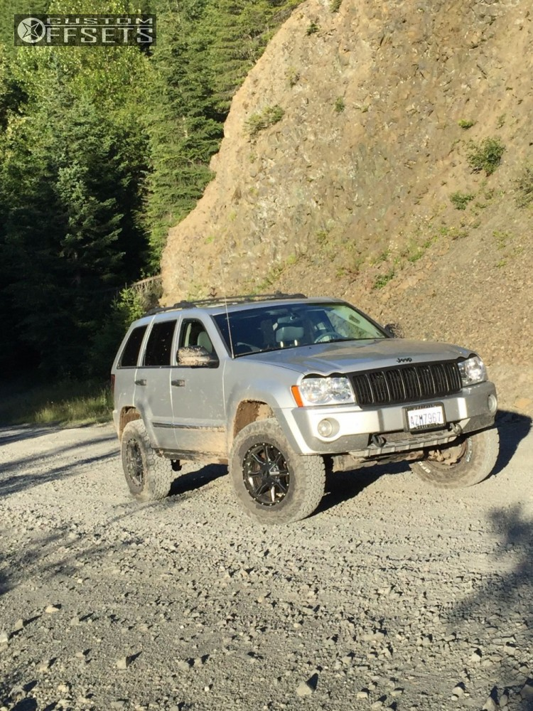 15 2005 Grand Cherokee Jeep Suspension Lift 3 Moto Metal Mo970 Machined Accents Slightly Aggressive