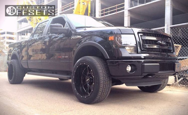 2013 ford f 150 gear alloy custom leveling kit. Black Bedroom Furniture Sets. Home Design Ideas