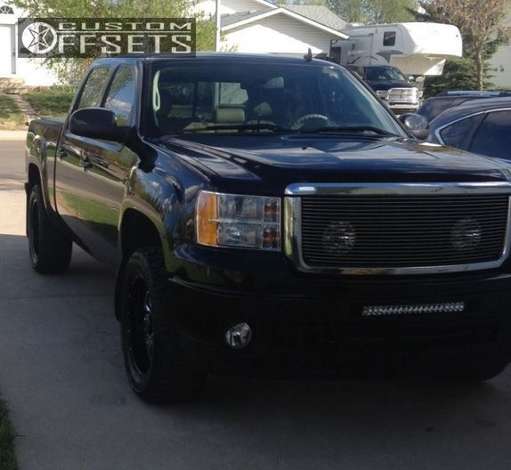 1 2010 Sierra 1500 Gmc Leveling Kit Eagle Alloy 014 Machined Accents Slightly Aggressive