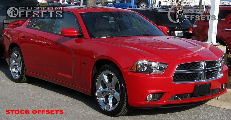 60 2011 charger dodge r t 4dr sedan 57l 8cyl 5a stock stock stock chrome tucked 5119 - Dodge Charger 2014 Red