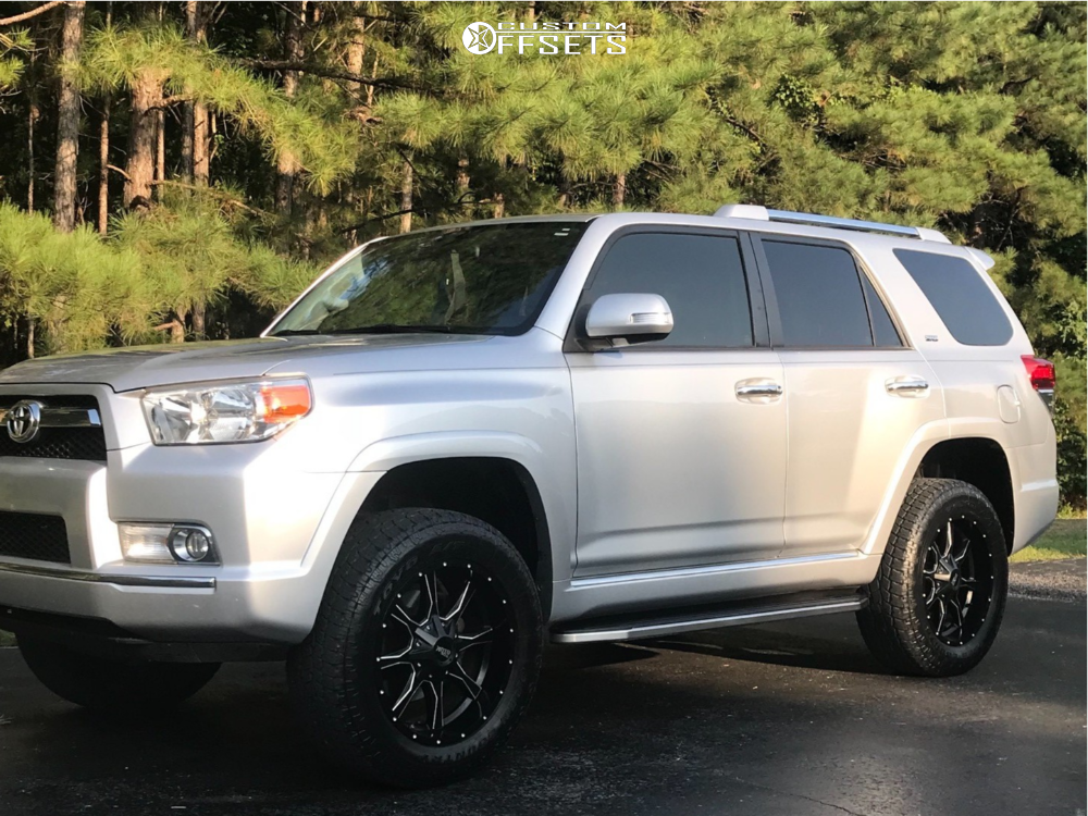 Toyota Financing Deals >> 2013 Toyota 4runner Moto Metal Mo970 Rough Country Suspension Lift 3in | Custom Offsets