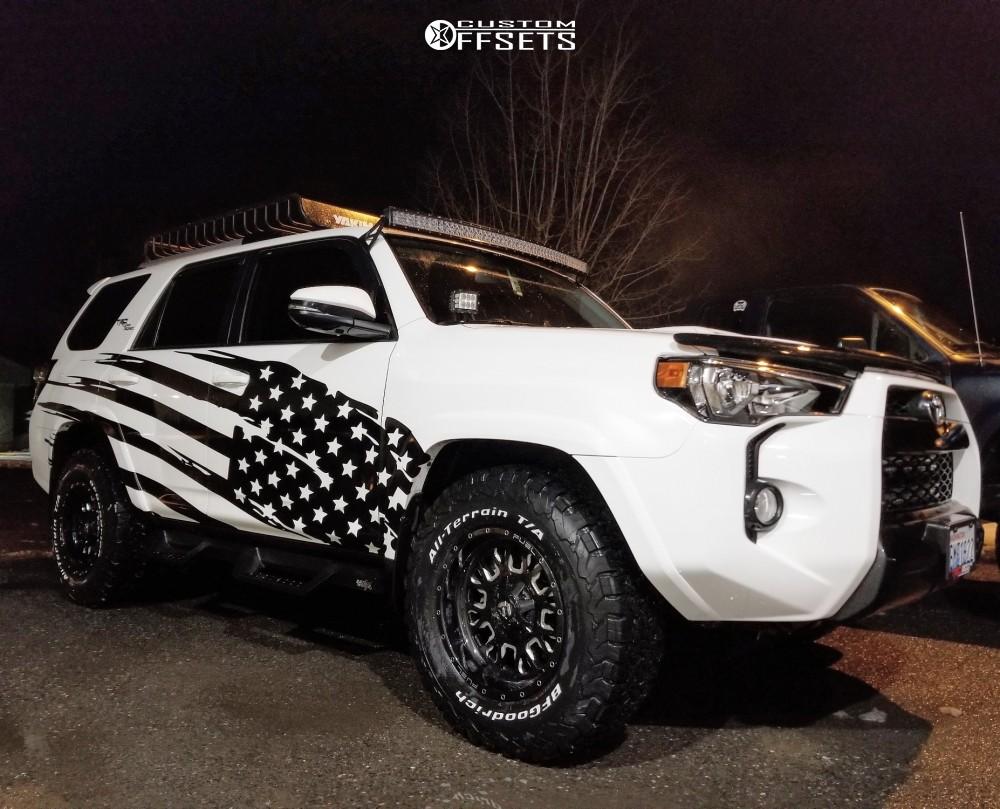 Bf Goodrich All Terrain >> 2018 Toyota 4runner Fuel Stroke Stock Stock | Custom Offsets