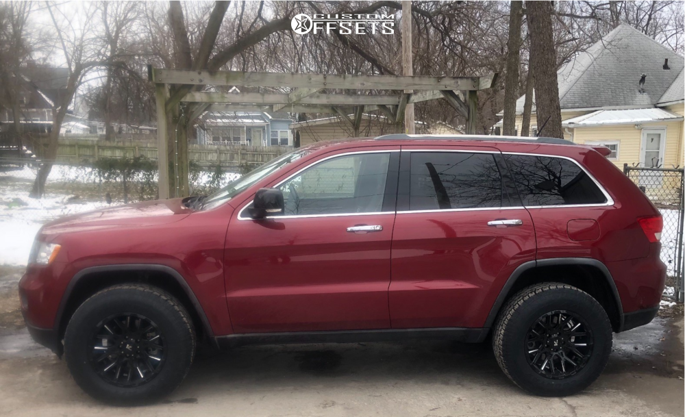 2012 Jeep Grand Cherokee V Rock Recoil Rocky Road Outfitters Body