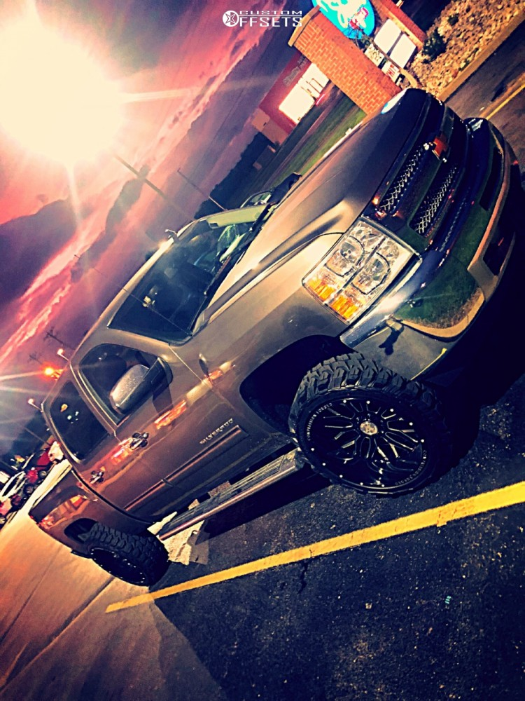 1 2013 Silverado 1500 Chevrolet Rough Country Leveling Kit Axe Offroad Ax20 Black