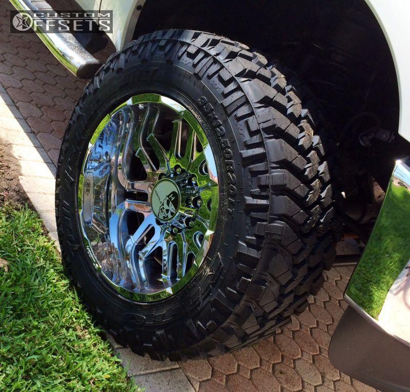 Wheel Offset 2014 Ford F 250 Super Duty Super Aggressive 3