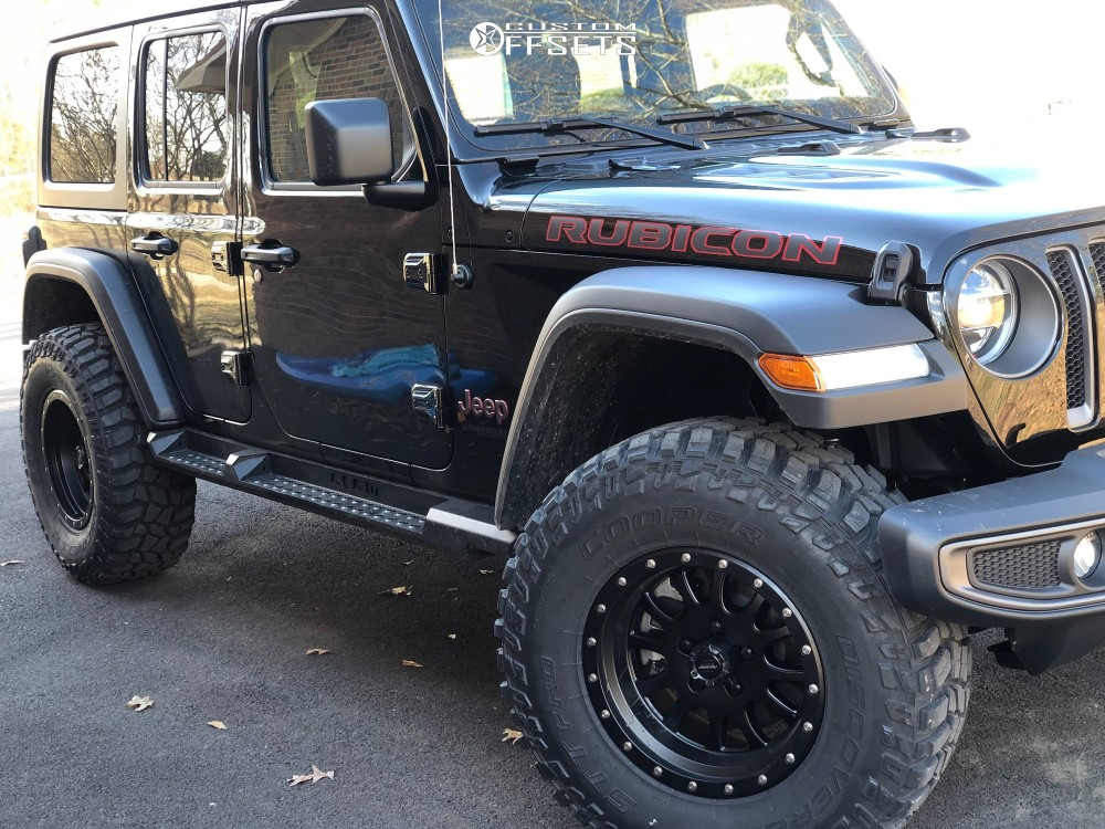 1 2018 Wrangler Jeep Stock Pro Comp Series 44 Black