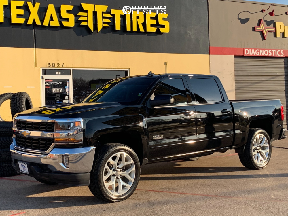 2018 Chevrolet Silverado 1500 Wheel Replicas V1176 Zone