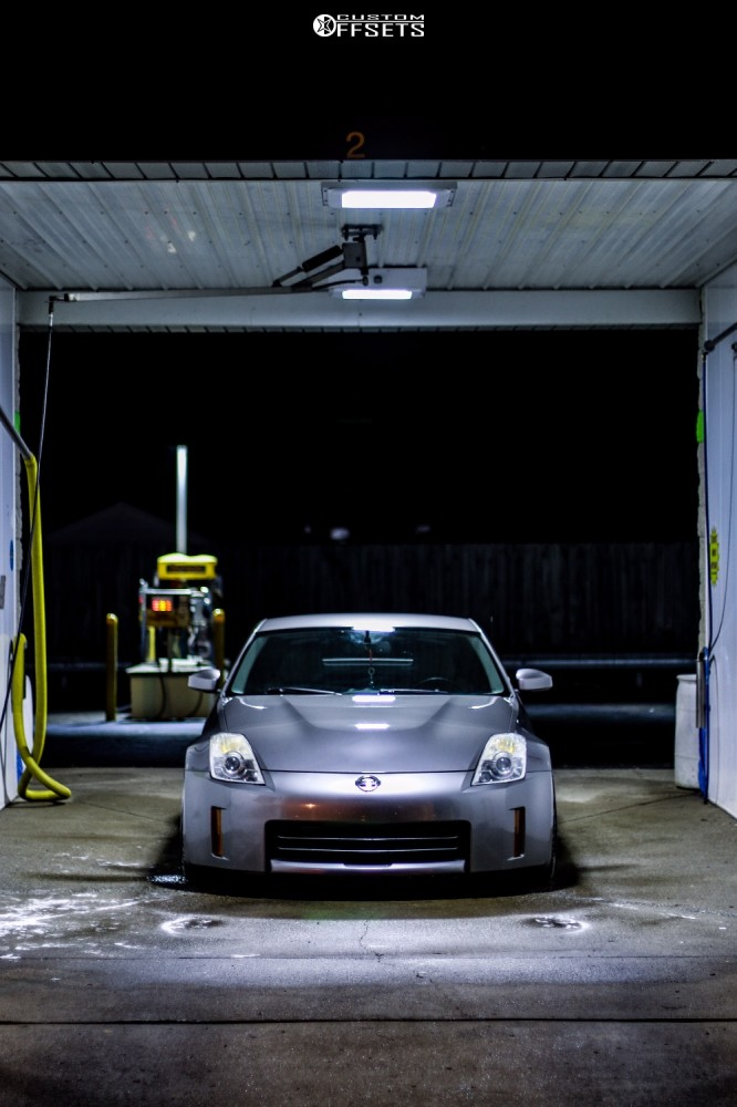 2007 Nissan 350z Aodhan Ds02 Bc Racing Coilovers | Custom