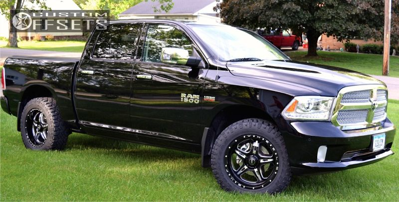 6104 1 2014 1500 ram stock bmf fite machined accents slightly aggressivejpg - Dodge Ram 2014 Custom