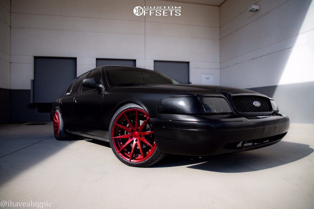 2004 ford crown victoria rosso zen custom lowering springs custom offsets 2004 ford crown victoria rosso zen