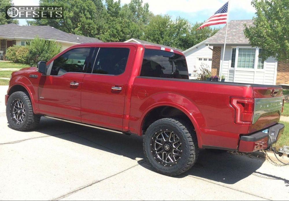 4 2015 F 150 Ford Stock Hostile Sprocket Black Milled