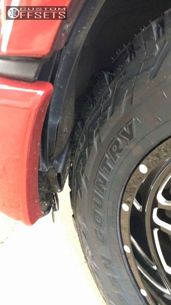 8 2015 F 150 Ford Stock Hostile Sprocket Black Milled