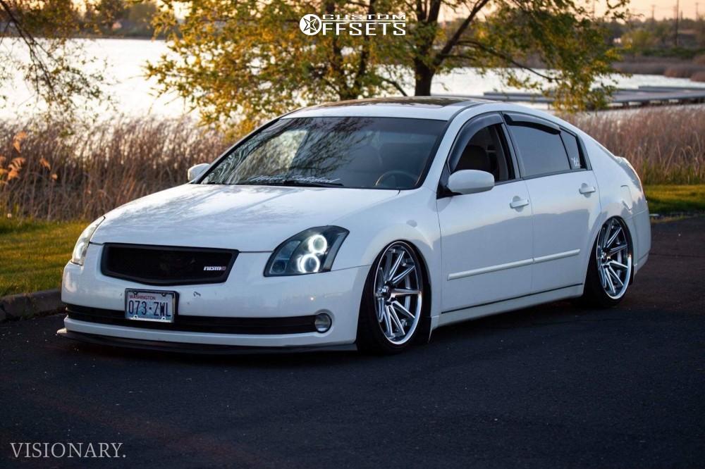 Custom Nissan Maxima >> 2005 Nissan Maxima Rohana Rc10 Air Lift Performance Air