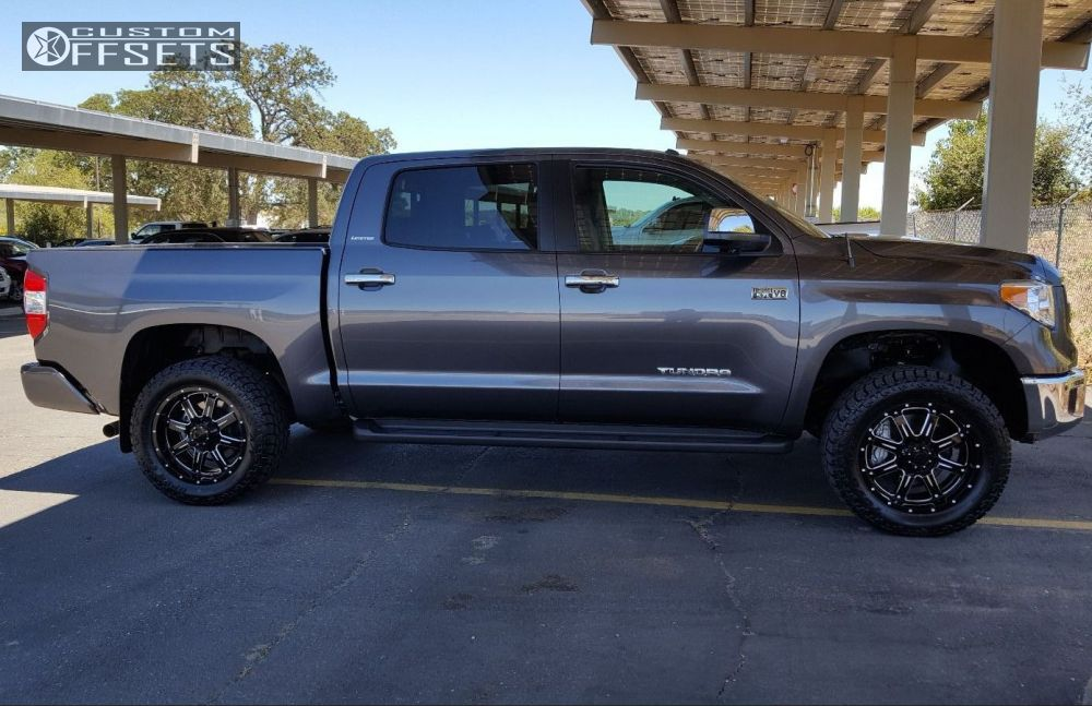 Wheel Offset 2015 Toyota Tundra Aggressive 1 Outside