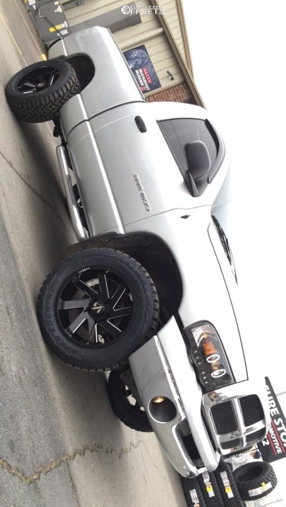 1 2005 Ram 1500 Dodge Stock Leveling Kit Arkon Off Road Lincoln Black