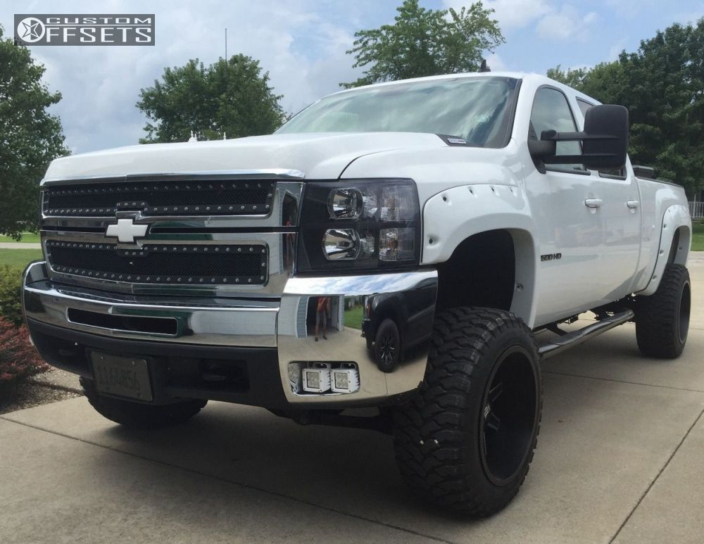 wheel offset 2010 chevrolet silverado 2500 hd super