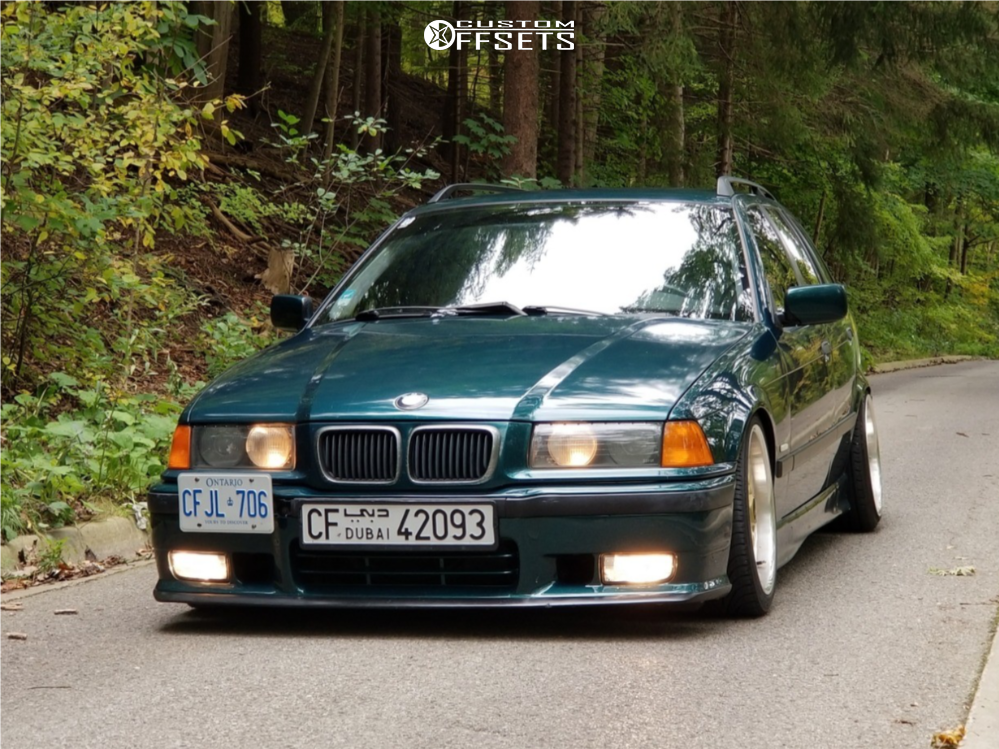 1998 Bmw 328i Bbs Rc090 Bc Racing | Custom Offsets