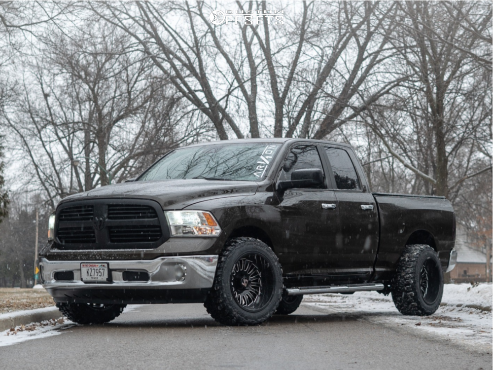 1 2014 1500 Ram Stock Stock Arkon Off Road Alexander Black