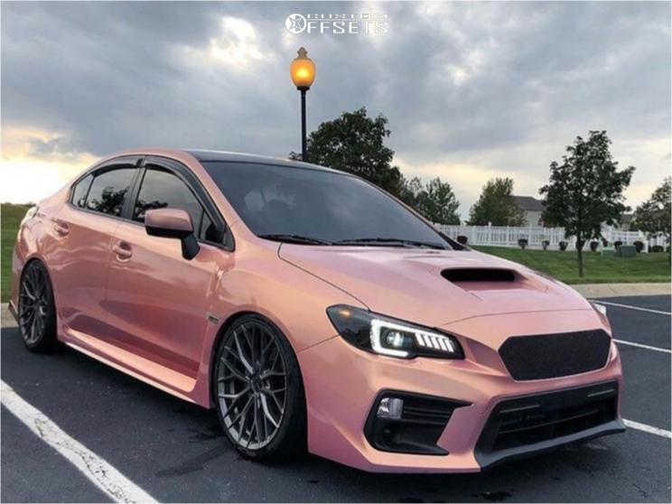 2018 Subaru Wrx Ambit Fc20 Bc Racing   Custom Offsets