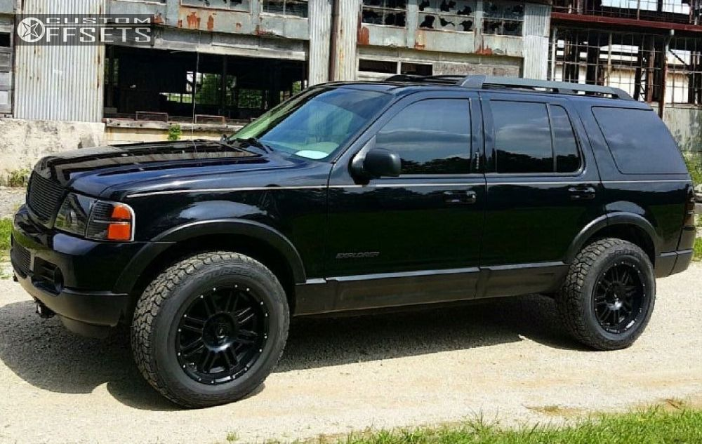 2005 Ford Explorer Wheels