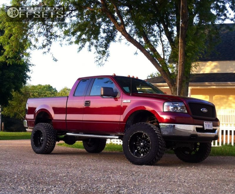 2006 Ford F 150 Fuel Hostage Bds Suspension Suspension Lift 6in