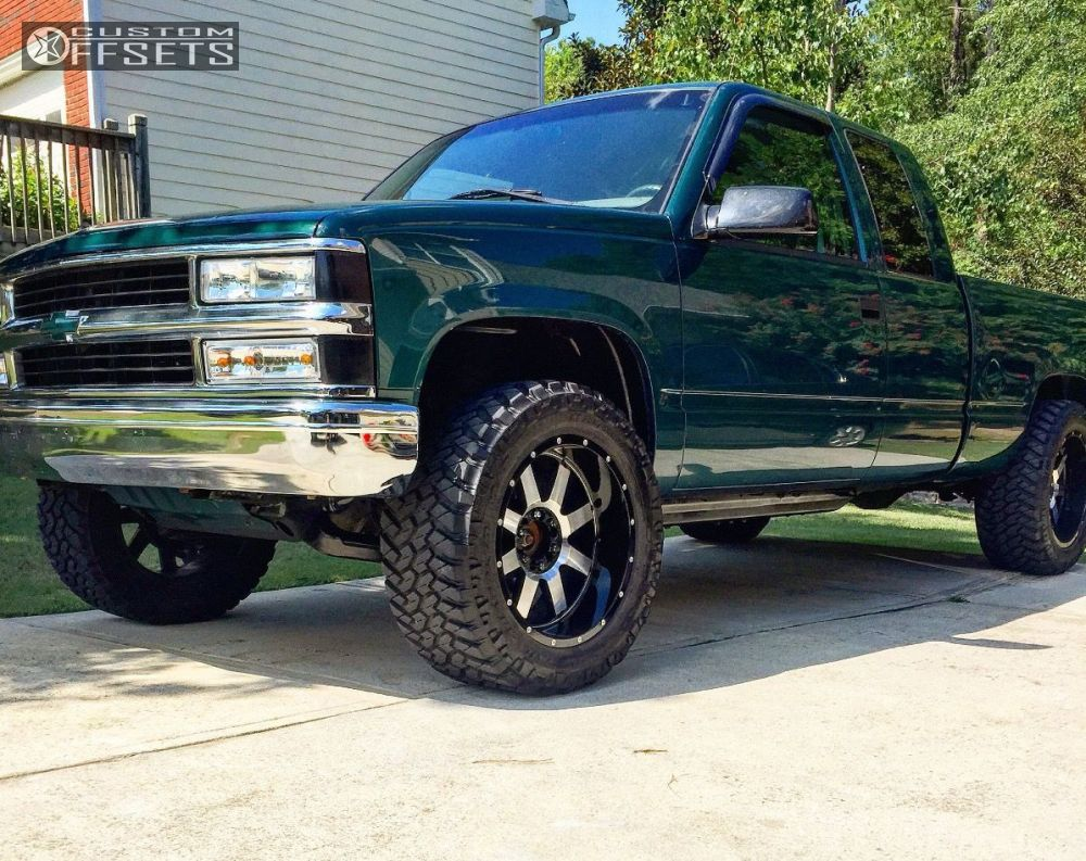 1 1997 k1500 chevrolet stock gear alloy big block machined accents aggressive 1 outside fender