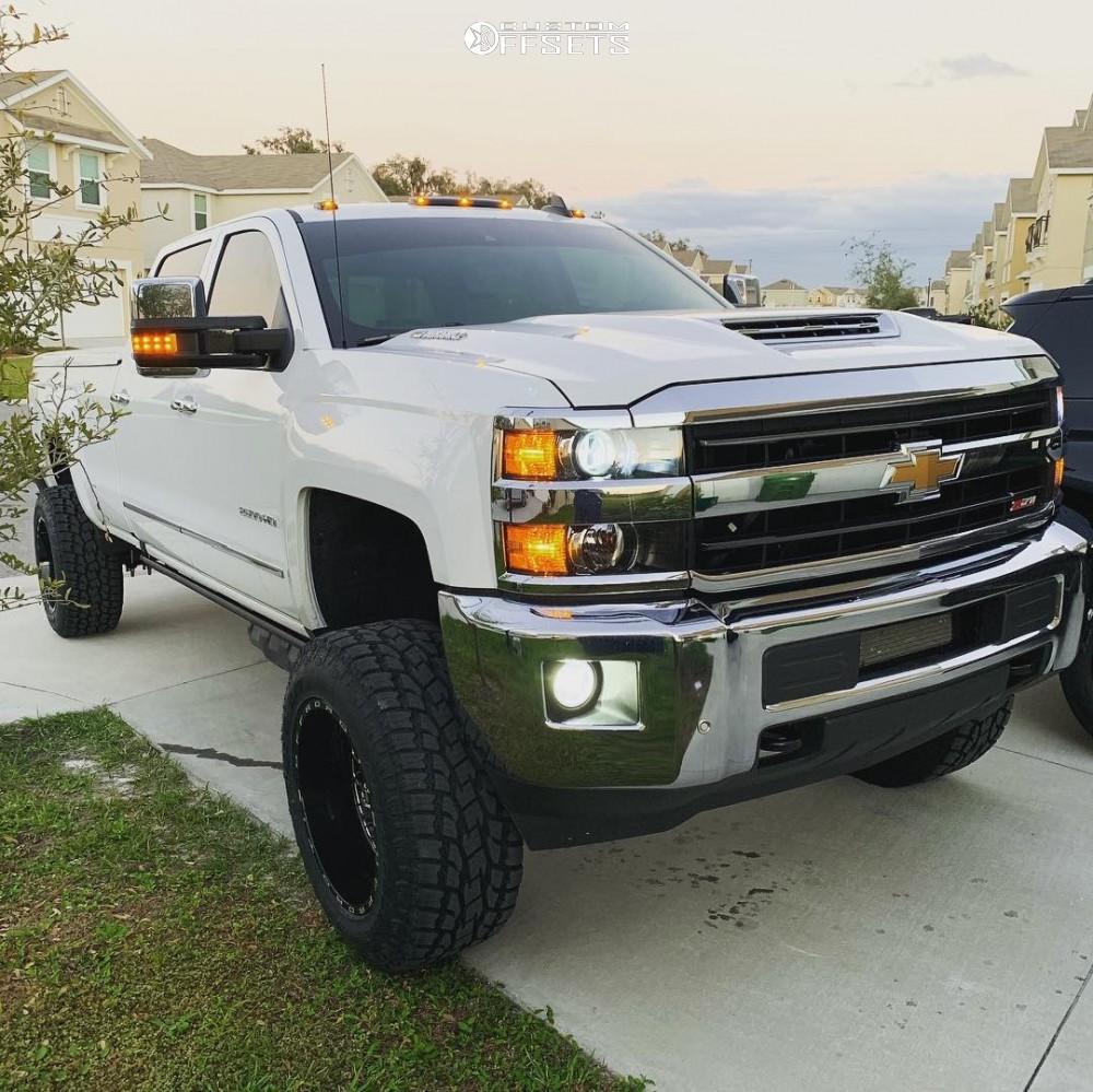 1 2019 Silverado 2500 Hd Chevrolet Fabtech Suspension Lift 6in Tis 544bm Machined Black