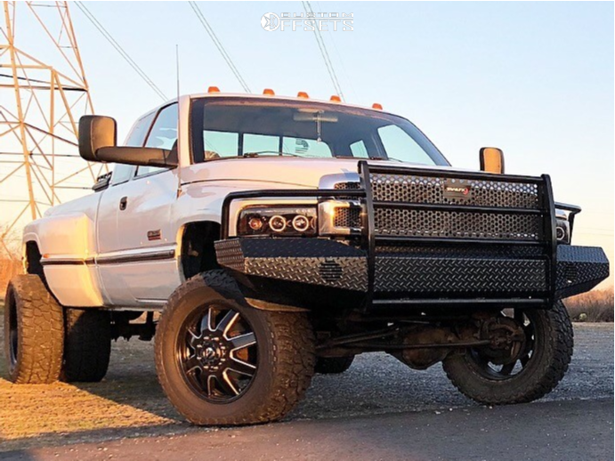 1996 dodge ram 3500 fuel maverick rough country leveling kit custom offsets 1996 dodge ram 3500 fuel maverick rough