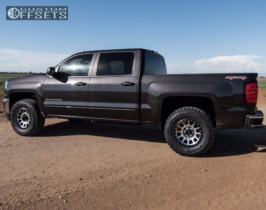Chevy Silverado Custom Wheels >> 2016 Chevrolet Silverado 1500 Method Nv Icon Suspension Lift 3in