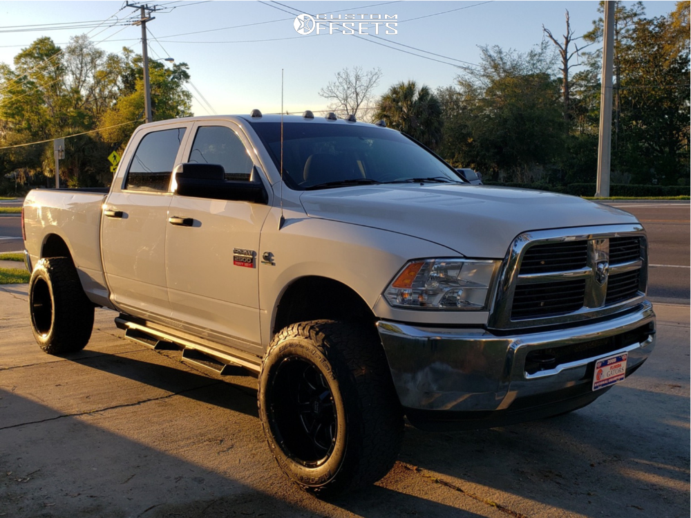 564546b27541a 2012 Ram 2500 Pure Grit Grit Rough Country Leveling Kit Custom Offsets