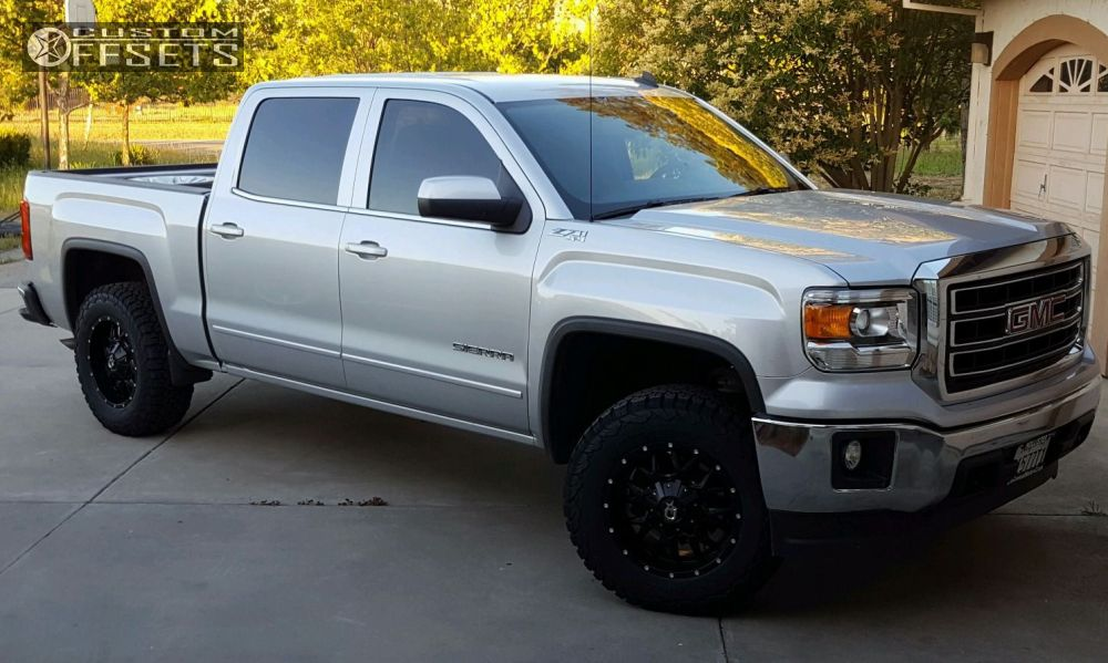 2014 Gmc Sierra 1500 Dropstars 645b Rancho Leveling Kit on 2014 gmc sierra all terrain s