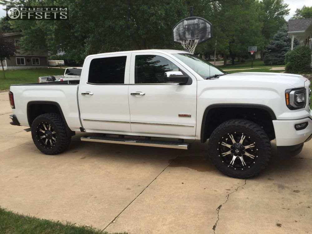 Chevrolet Silverado 1500 additionally 1407 Cummins Powered 1966 Gmc C er Truck additionally Page 148 additionally Gm Suspension Lift Kit 2234c moreover 2016 Gmc Sierra 1500 Fuel Nutz Rough Country Leveling Kit. on 2014 gmc sierra leveling kit