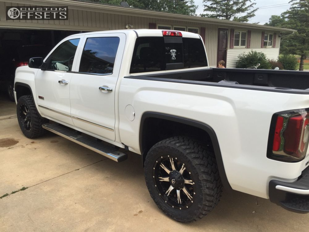 2016 Gmc Sierra 1500 Fuel Nutz Rough Country Leveling Kit