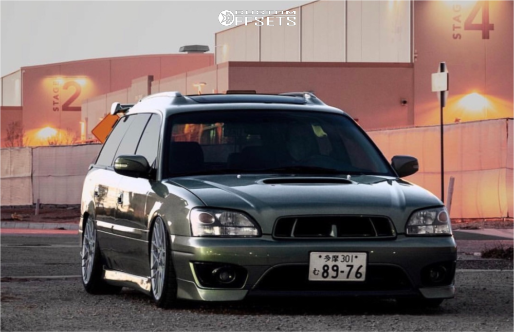 2003 Subaru Outback Rotiform Rse Air Lift Performance Air