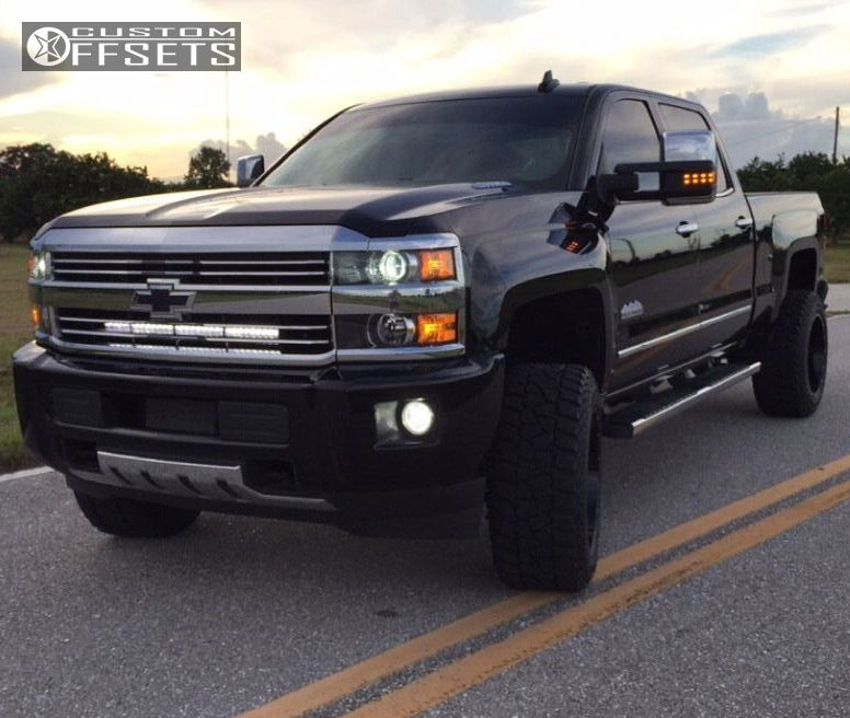 wheel offset 2016 chevrolet silverado 2500 hd leveling kit. Black Bedroom Furniture Sets. Home Design Ideas