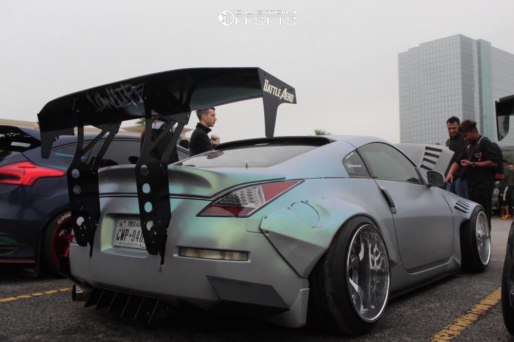 2007 Nissan 350z Weds Kranze Lxz Air Lift Performance Air