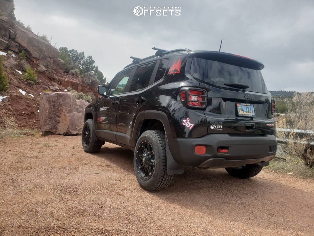 Jeep Renegade Lifted >> 2018 Jeep Renegade Fuel Hostage Teraflex Suspension Lift