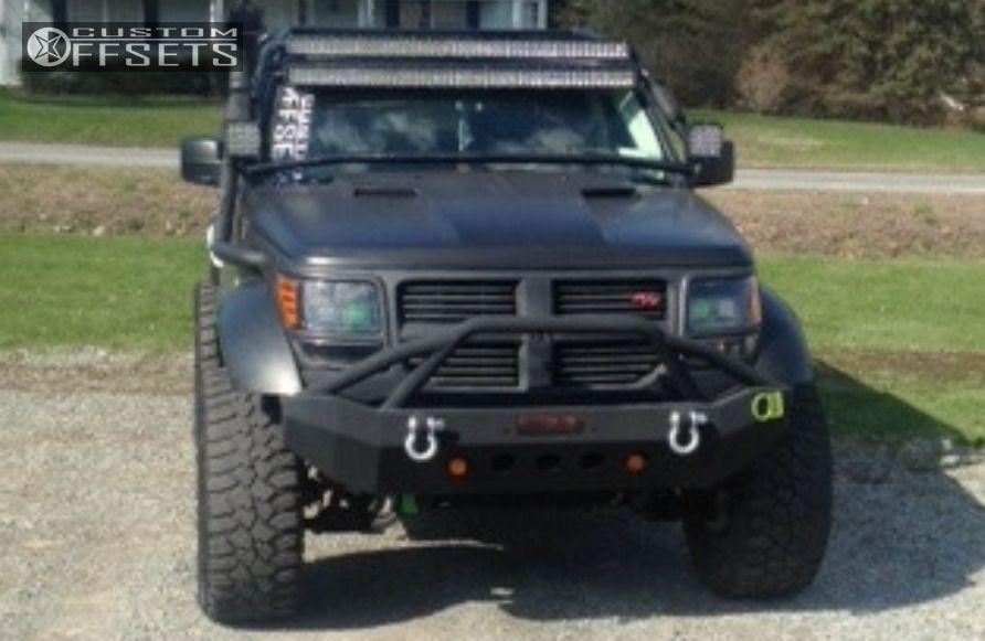 ... 3 2011 Nitro Dodge Suspension Lift 4 Ballistic Hostel Black Slightly  Aggressive