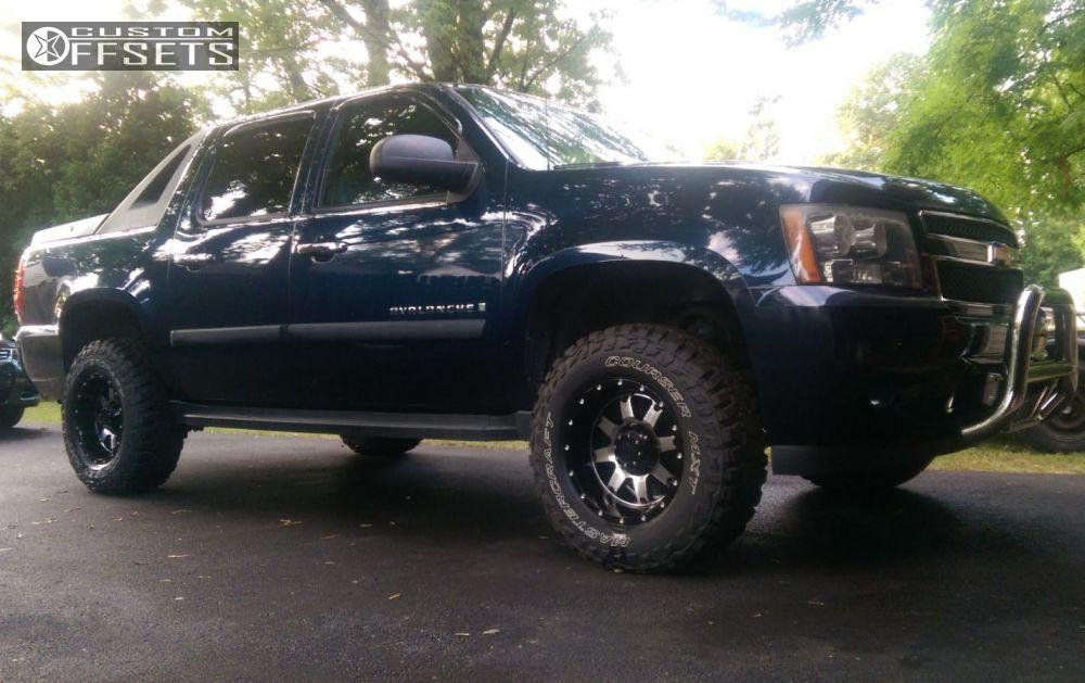 1 2007 Avalanche Chevrolet Suspension Lift 35 Gear Alloy Big Block Black Aggressive 1 Outside Fender