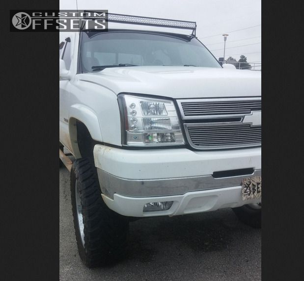 2005 Chevrolet Silverado 2500 Hd Regular Cab Suspension: Wheel Offset 2005 Chevrolet Silverado 2500 Hd Aggressive 1