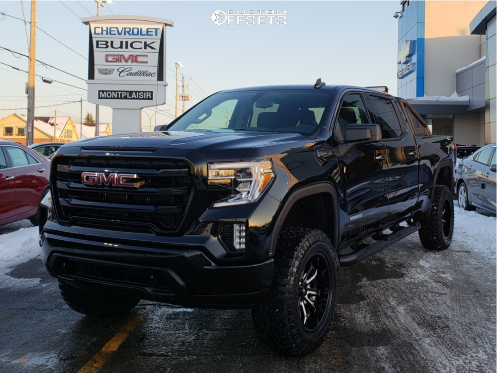 2019 Gmc Sierra 1500 Moto Metal Mo983 Pro Comp Suspension Lift 6in