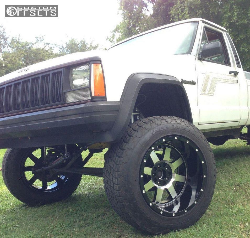 1989 Jeep Comanche Gear Alloy Big Block Custom Suspension