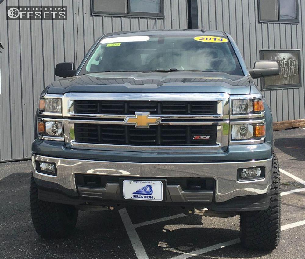 2 2014 Silverado 1500 Chevrolet Suspension Lift 6 Fuel Savage Black Slightly Aggressive