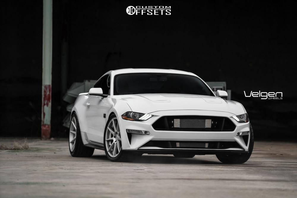 2019 Ford Mustang Velgen Vmb9 Eibach Lowering Springs