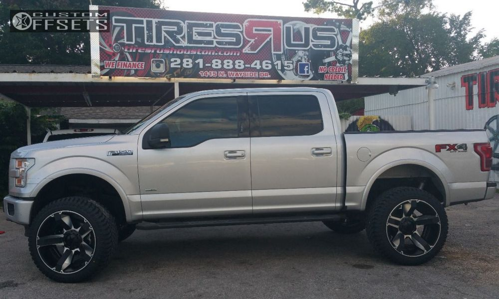 1 2015 F 150 Ford Suspension Lift 6 Xd 810 Machined Accents Super Aggressive 3 5