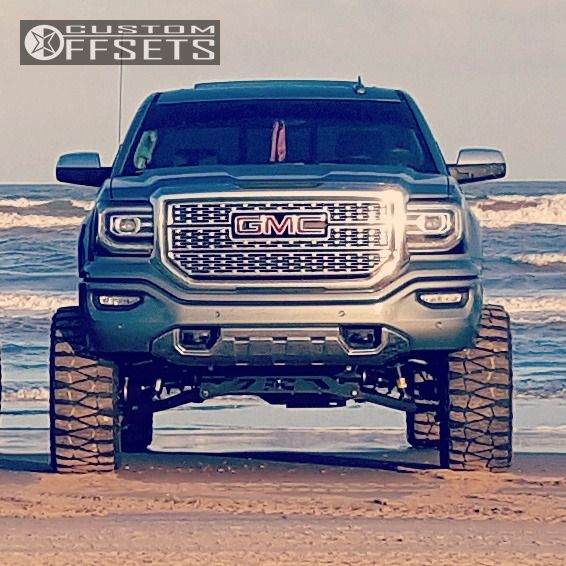 1 2016 Sierra 1500 Gmc Suspension Lift 75 Vision Prowler Black Super Aggressive 3 5