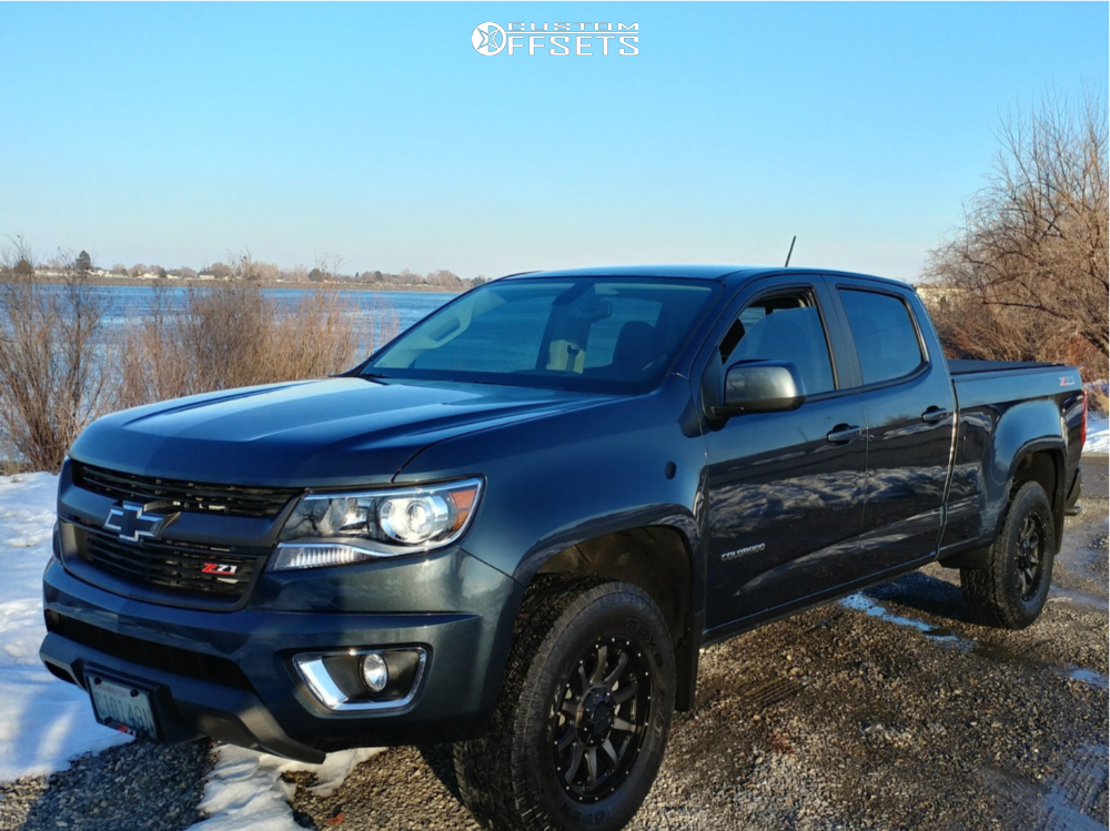 2019 Chevrolet Colorado Raceline Shift Fabtech Leveling Kit