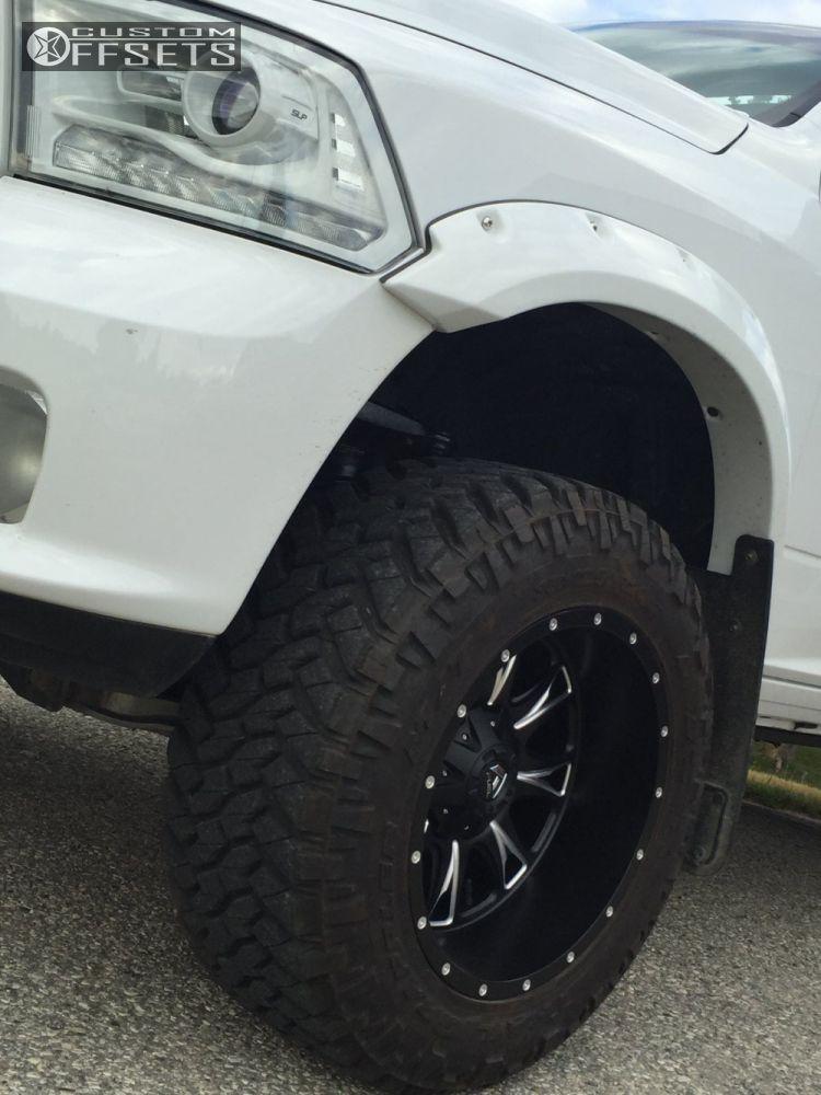2014 Ram 1500 Fuel Throttle Pro Comp Suspension Lift 7in