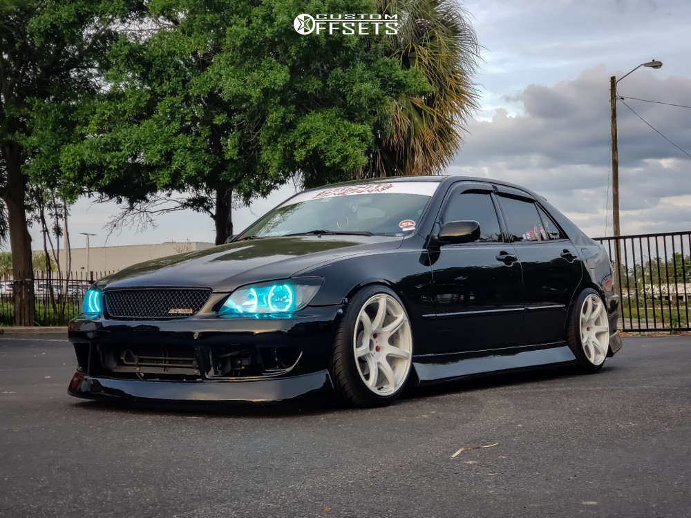 2003 Lexus Is300 Work Emotion T7r Maxspeedingrods Coilovers